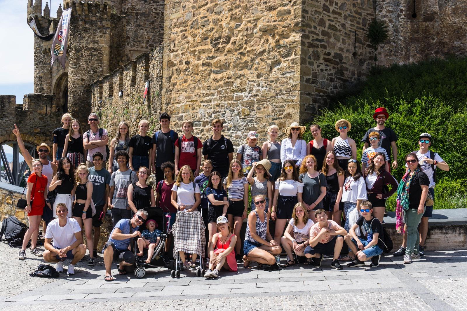 Zirkus RatzFatz erobert weit abgelegene Auftrittsorte in Spanien
